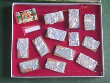 Ancien boîte de tampons anciens Disney (Mickey, Donald, Pluto...) 13 pièces