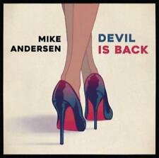 MIKE ANDERSEN - DEVIL IS BACK NEW CD
