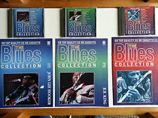 The Blues Collection 1,2 & 3 Cd's  John Lee Hooker BB King Chuck Berry+Magazines