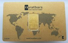 SEALED 5 GRAM KARATBAR NADIR GOLD BAR .9999 PURE