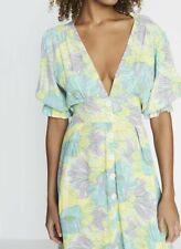 FAITHFULL THE BRAND Rafa Midi Dress NEW WITH TAGS Size 8