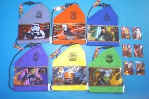 Subway 2014 - Star Wars Rebels Bags & Trading Cards - Complete Set