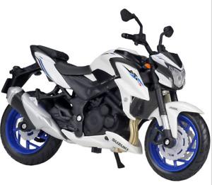 Maisto Modèle Réduit de Moto Miniature Suzuki GSX-S750 ABS 1/18