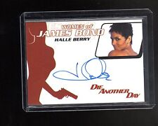 2014 James Bond Archives Halle Berry auto card