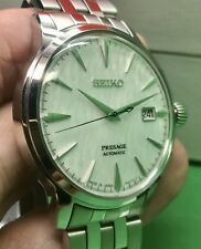 Seiko Presage Star Bar Limited Edition Fuyugeshiki Cocktail Time SARY103 White