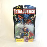 Total Justice Superman 1996 Kenner JLA League Collector DC Kryptonite Ray USA
