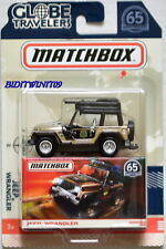 MATCHBOX 2018 GLOBE TRAVELERS JEEP WRANGLER