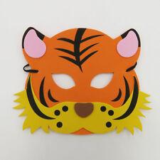 Tiger Wild Animal Foam Mask Zoo Safari Farm Jungle Costumes Kids Child Boy Girls