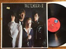 PRETENDERS Pretenders II (2) LP vinyl album 1981 Rare Stickered Sleeve 1st Press