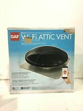Master Flow 1250 Cfm Black Wi-Fi Power Roof Mount Attic Fan New Other
