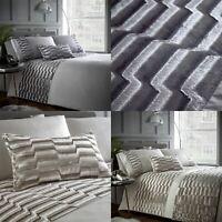 Crushed Velvet Luxury Duvet Cover Bedding Bed Set