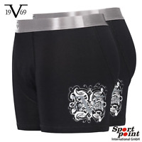 4 x VERSACE 1969 Herren Boxershorts Unterhose Retro Pants L Neu Uvp.* 49,95€