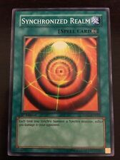 5DS1-EN022 Yugioh! SYNCHRONIZED REALM 1st Ed CONTINUOUS SPELL CARD Near Mint x1