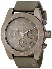 Electric Men's DW01 Gun Metal Chronograph Sport Watch Rubber Strap Date Gunmetal