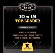 10 - Cbg 10X15 Photo Image or Print Toploader Storage 10 X 15 Display Holders
