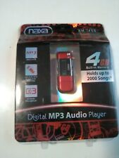Naxa MP3 Player with 4GB Built-in Flash Memory, LCD Display and Built-in USB