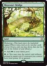 Mosswort Bridge NM X4 Duel Decks: Nissa vs. Ob Nixilis MTG Magic Cards Land Rare