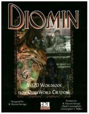 Diomin Worldbook: d20 D&D Fantasy Rpg Sourcebook