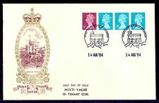 Handstamped Royalty Decimal Great Britain Stamps