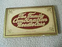 Vintage The Family Combination Needle Case Made in Germany