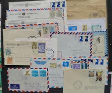 UNIFIL Libanon Vereinte Nationen Sammlung 18 Militärbriefe selten angeboten UNO