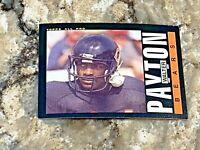 1985 Topps Walter Payton #33 Chicago Bears HOF NFL Football Card