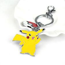 Selling! Pokemon Pikachu Key Chain Pocket Monster Metal Key Ring Pendant Toy