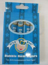 It's a Boy Bubblegum Cigars for Baby Shower Candy Party - 5 Cigars per Box