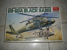ACADEMY UH-60A BLACK HAWK U.S ARMY TACTICAL TRANSPORT HELICOPTER
