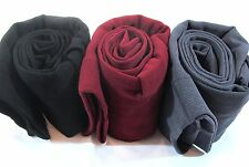 Womens Warm Knit Cotton Sweater Wool Skinny Stretch Footless Leggings
