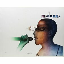 """Paul Wunderlich Original Lithograph """"Madonna with Microphone"""""""