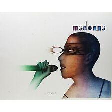 """PAUL WUNDERLICH - Originallithographie """"MADONNA MIT MIKROFON"""""""
