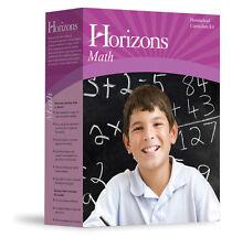 Alpha Omega Horizons Algebra 1 Grade 8 Math Homeschool Complete Set - NEW! AOP