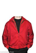 50er/60er Oldschool James Dean Rockabilly Harrington Jacke England Jacket rot