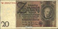 Deutsches Reich Rosenbg: 174a, Udr.-Bst.: B, Serien: V-Z gebraucht (III) 1929 20