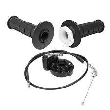 """7/8""""Twist Throttle Handle Grip Throttle clamp cable for Dirt motorcycle bike ATV"""