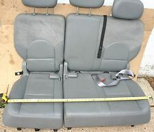 05 06 07 04 TOWN COUNTRY CARAVAN REAR SEAT BENCH LEATHER LEFT RIGHT HEADREST NJ