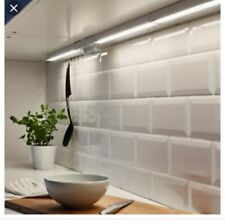 "Ikea New UTRUSTA - 002.883.32 - LED countertop light, 18"", aluminum color"