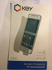 Samsung Galaxy S6 Twin Pack Screen Protector Guards Clear Sscs6009glk