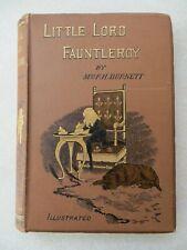 LITTLE LORD FAUNTLEROY by Frances Hodgson Burnett (Frederick Warne, 1888)