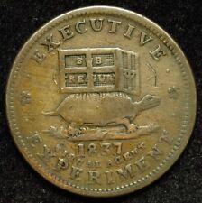 1837 Hard Times Token Illustrious Predecessor HT 33 (B01)