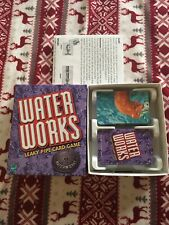 Used Complete Water Works Leaky Pipe Card Game Kids Boy Girl