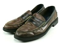 Cole Haan Pinch Campus $120 Men's Penny Loafer Dress Shoes Size 11 Leather Brown