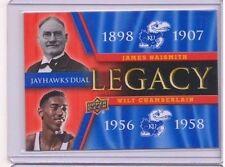 2013 Upper Deck Kansas Jayhawk Legacy Duos #JLD2 James Naismith/Wilt Chamberlain