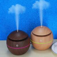 LED Essential Oil Diffuser Ultrasonic Aroma Therapy Scent Air Burner Humidifier