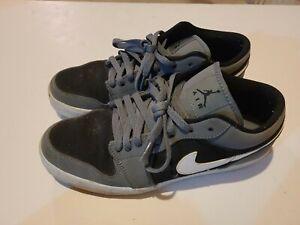 Nike Air Jordan V2 Low 'Cool Grey' 552312-005 Black Gray White Men's Size 9.5