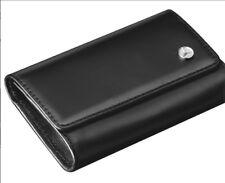 Mercedes-Benz Schlüssel-Etui Schlüsseltasche Schlüsselanhänger Leder schwarz NEU
