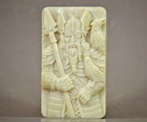 VIKING SILICONE MOLD soap wax resin plaster clay BATH BOMB WARRIOR