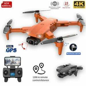 4K Dual HD Camera DRONE Professionall Photography Brushless Motor Foldable RC
