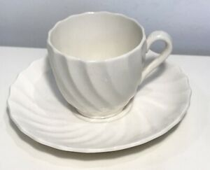 Spode Copeland Demitasse Small Cup Saucer Set Excellent Condition Cream White
